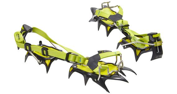 Edelrid Shark stijgijzers groen/zwart